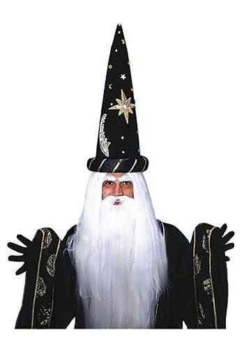 Conjunto de peruca e barba Merlin Feiticeiro – Merlin Wig and Beard Set