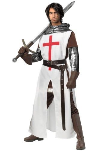 FAntasia masculino de cruzado plus size – Men's Crusader Plus Size Costume