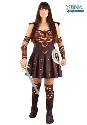 FAntasia plus size Princesa Xena – Plus Size Xena Warrior Princess Costume