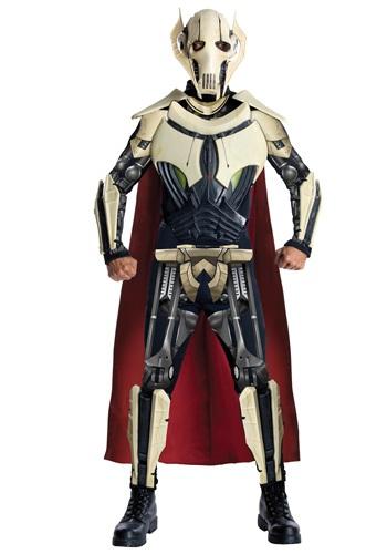 Fantasia Adulto Deluxe Geral Grievous Star Wars – Adult Deluxe General Grievous Costume