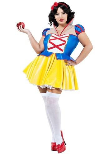 Fantasia Branca de Neve Plus Size Sexy – Women's Fairest Princess Plus Costume