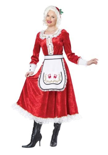Fantasia Clássico da Sra. Claus – Classic Mrs. Claus Costume