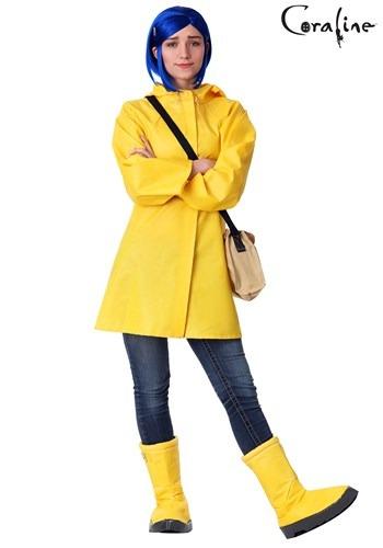 Fantasia Coraline Plus Size para Adultos – Adult Coraline Plus Size Costume