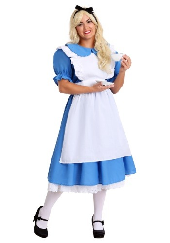 Fantasia Deluxe Plus Size Alice no Pais das Maravilhas – Deluxe Plus Size Alice Costume
