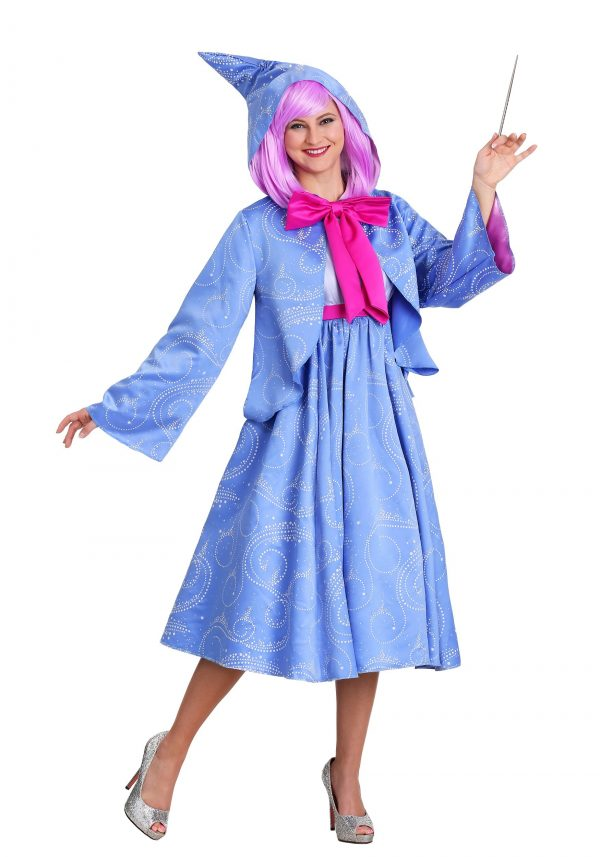 Fantasia Disney Cinderela Fada Madrinha Plus Size – Disney Cinderella Fairy Godmother Plus Size Costume