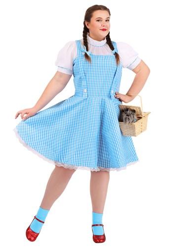 Fantasia Dorothy do mágico de Oz Plus Size – Wizard of Oz Dorothy Costume Plus Size
