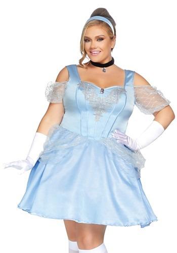 Fantasia Feminina Plus Size Cinderela – Women's Plus Glass Slipper Sweetie Costume