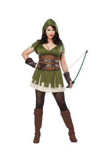 Fantasia Feminino Lady Robin Hood Plus Size – Lady Robin Hood Plus Size Women's Costume