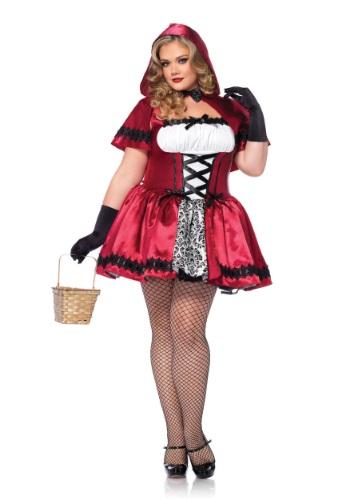 Fantasia Gótica Chapeuzinho Vermelho Plus Size – Gothic Red Riding Hood Plus Size Costume