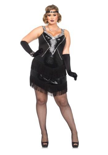 Fantasia Glamour Flapper Plus Size – Plus Size Glamour Flapper Costume
