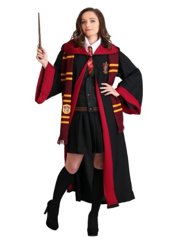 Fantasia Hermione Harry Potter Plus Size- Ladies Plus Sized Hermione Costume