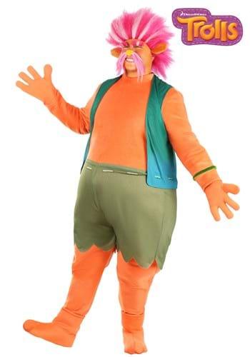 Fantasia King Peppy Plus Size de Trolls Adulto – Trolls Adult's Plus Size King Peppy Costume