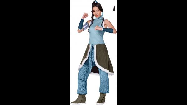 Fantasia Korra para Adultos – A Lenda de Korra – Adult Korra Costume – The Legend of Korra