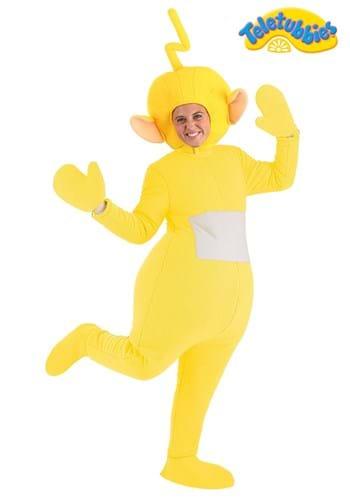 Fantasia Laa-Laa Teletubbies Plus Size para adultos – Plus Size Laa-Laa Teletubbies Costume for Adults