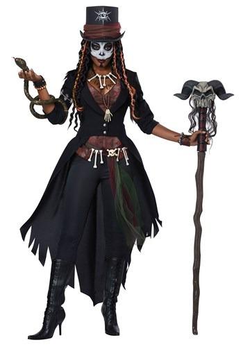 Fantasia Mágico Voodoo Plus Size Feminino – Women's Plus Size Voodoo Magic Costume