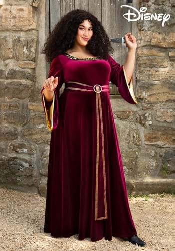 Fantasia Mãe Gothel para Mulheres Plus Size da Disney's – Mother Gothel Costume for Plus Size Women from Disney's Tangled