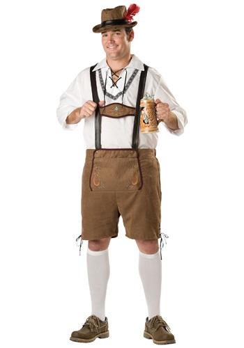 Fantasia Masculino Oktoberfest Plus Size – Plus Oktoberfest Guy Costume