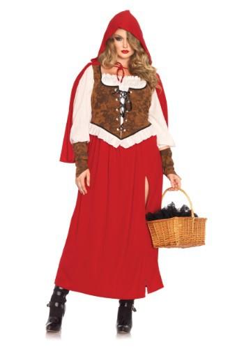 Fantasia Plus Size Chapeuzinho Vermelho -Plus Size Woodland Red Riding Hood