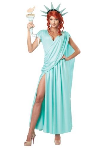 Fantasia Plus Size Estatua da Liberdade – Lady Liberty Plus Size Costume