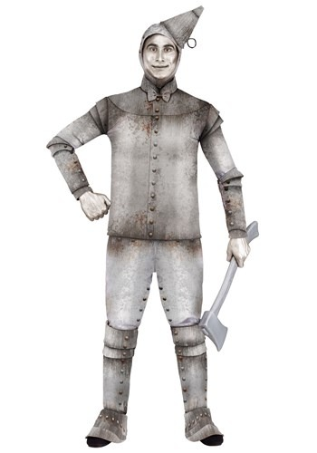 Fantasia Plus Size Homem de Latas – Plus Size Tin Fellow Costume for Men