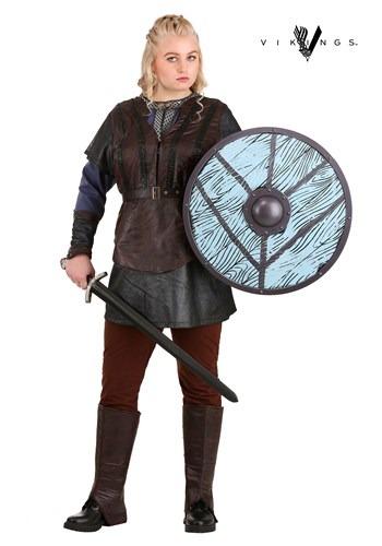 Fantasia Plus Size Lagertha Lothbrok para Mulher Vikings – Vikings Woman's Plus Size Lagertha Lothbrok Costume