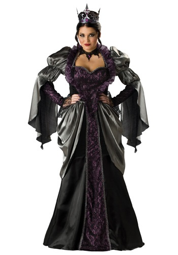 Fantasia Plus Size Rainha Má -Plus Size Wicked Queen Costume