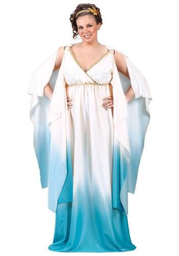 Fantasia Plus Size da Deusa Grega – Plus Size Greek Goddess Costume
