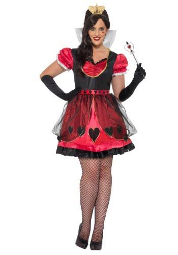 Fantasia Plus Size da Rainha do País das Maravilhas – Plus Size Queen of Wonderland Costume
