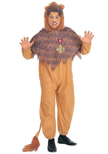 Fantasia Plus Size de leão covarde – Plus Size Cowardly Lion Costume