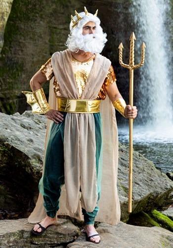 Fantasia Poseidon Plus Size Masculino – Men's Poseidon Plus Size Costume