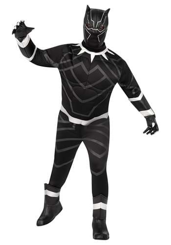Fantasia Premium Black Pantera Plus Size – Black Panther Plus Size Premium Costume