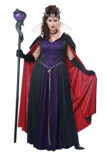 Fantasia Rainha do Mal Branca de Neve Plus Size – Womens Evil Storybook Queen Plus Size Costume