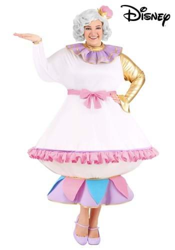 Fantasia Sra. Potts para mulheres Plus Size da Disney's – Mrs. Potts Costume for Plus Size Women from Disney's Beauty and the Beast