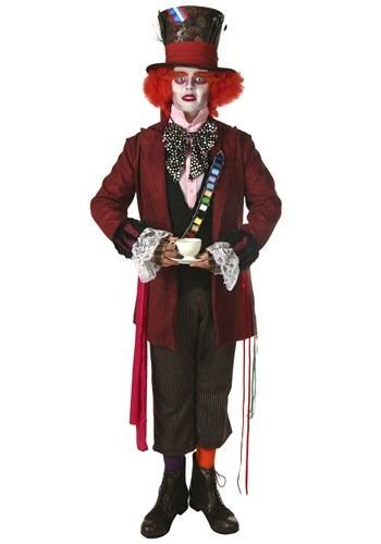 Fantasia autêntico do Chapeleiro Maluco Plus Size -Plus Size Authentic Mad Hatter Costume