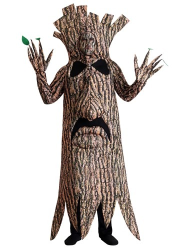 Fantasia de árvore aterrorizante adulto plus size – Adult Plus Size Terrifying Tree Costume