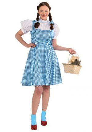 Fantasia de Dorothy Pluz Size  Magico de Oz – Plus Size Adult Dorothy Costume