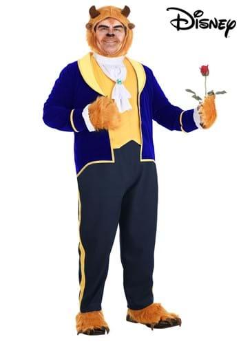 Fantasia de Fera para Homens Plus Size de A Bela e a Fera da Disney – Beast Costume for Plus Size Men from Disney's Beauty and the Beast