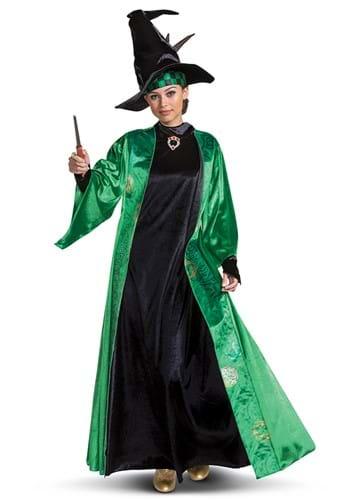 Fantasia de Harry Potter Adulto Deluxe Professor McGonagall – Harry Potter Adult Deluxe Professor McGonagall Costume