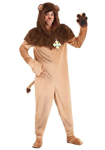 Fantasia de Leão Covarde Mágico de Oz Plus Size – Plus Size Wizard of Oz Cowardly Lion Costume