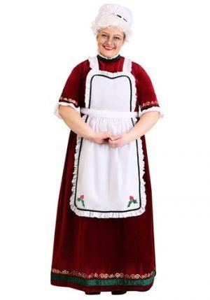 Fantasia de Natal Plus Size Mamãe Noel – Plus Size Mrs. Claus Holiday Costume