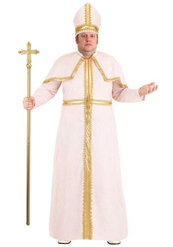 Fantasia de Papa Pio Tamanho Plus Size – Plus Size Pious Pope Costume for Men