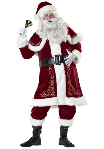 Fantasia de Papai Noel  – Jolly Ole St. Nick Santa Costume