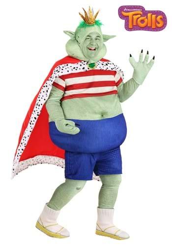 Fantasia de Prince Gristle Trolls PLus SIze – Plus Size Prince Gristle Trolls Costume