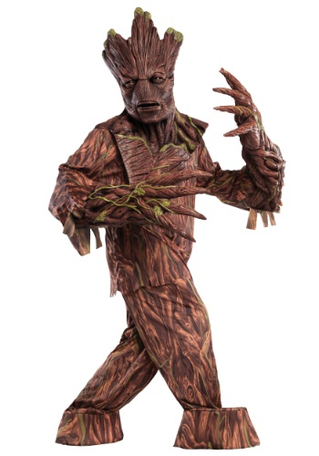 Fantasia de Reacher Criatura Groot para Adultos – Adult Groot Creature Reacher Costume