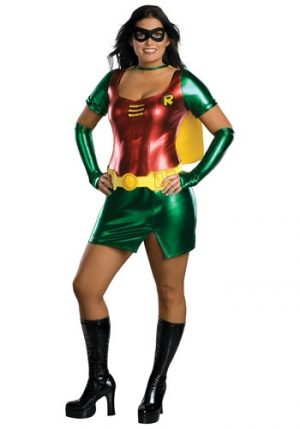 Fantasia de Robin Girl Plus Size – Plus Size Robin Girl Costume