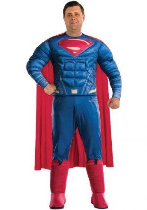 Fantasia de Super-Homem Adulto Plus Size – Adult Superman Plus Size Costume