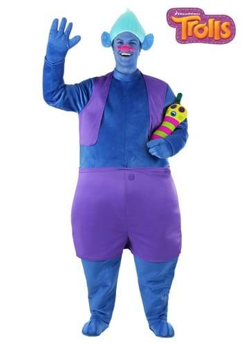 Fantasia de adulto plus size biggie de Trolls – Adult Plus Size Biggie Costume from Trolls