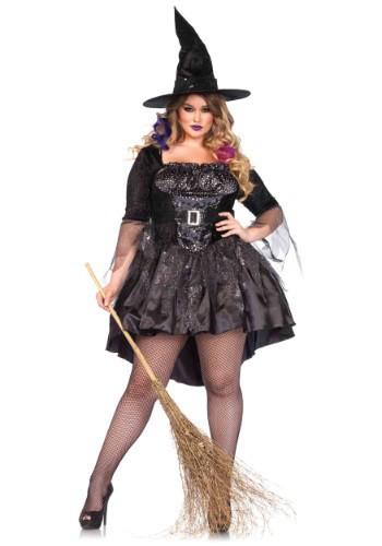 Fantasia de amante de magia negra Plus Size – Black Magic Mistress Costume