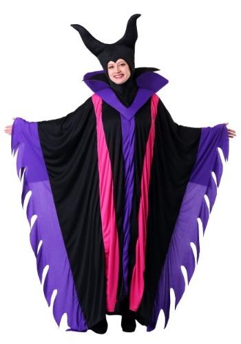 Fantasia de bruxa Malévola Plus Size  – Plus Size Magnificent Witch Costume