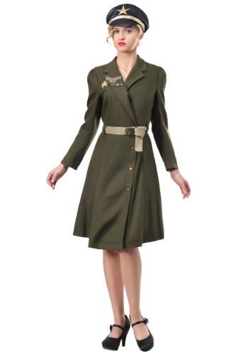 Fantasia de capitão militar feminino plus size – Women's Plus Size Bombshell Military Captain Costume